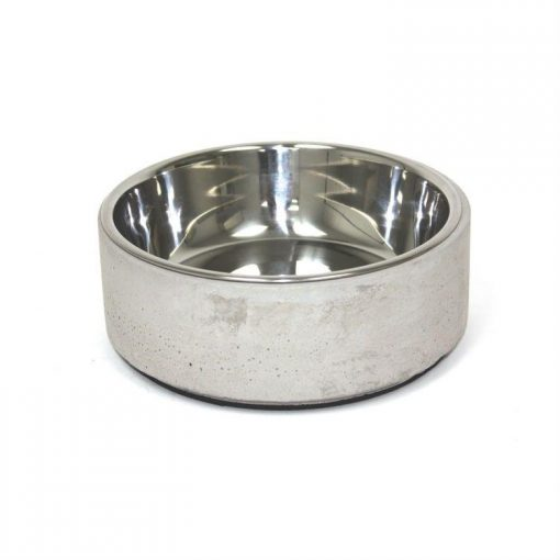 Be One Breed Stylish Concrete Bowl for Pets