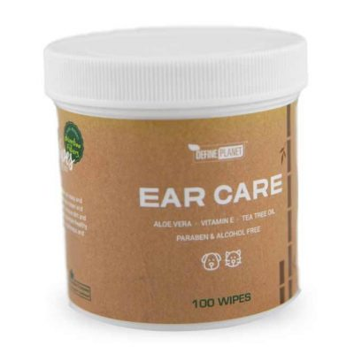Define Planet BooWipes Ear Care Wipes for Pets