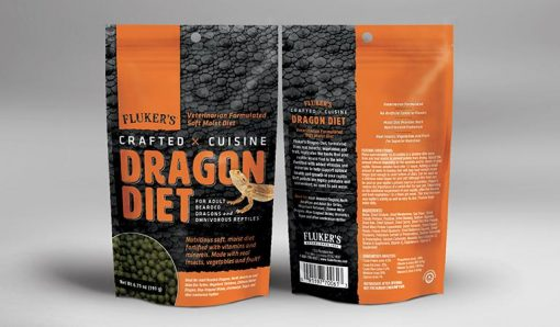 Flukers Crafted Cuisine Adult Bearded Dragon Food