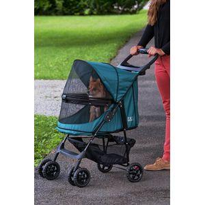 PET GEAR No Zip Happy Tails Pet Stroller for Dogs