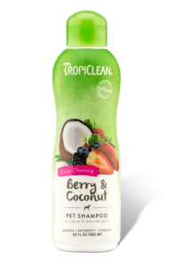 TropiClean Berry and Coconut Pet Shampoo