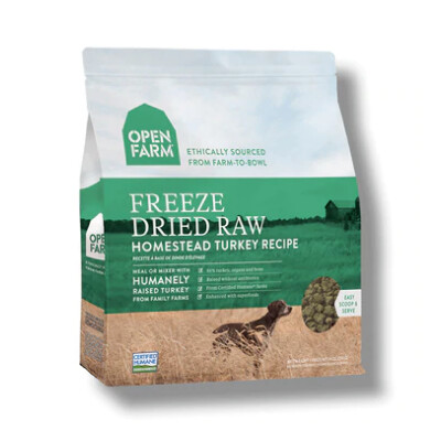 buy Open Farms Freeze Dried Dog Food Homestead Turkey Recipe