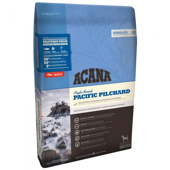 Acana Singles Pacific Pilchard Dog Food For All Life Stages – Grain Free