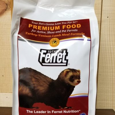 Totally Ferret Turkey Venison and Lamb Ferret Food