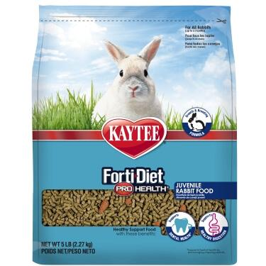 Kaytee Forti Diet Pro Health Juvenile Rabbit Food