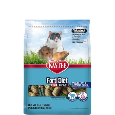 Kaytee Forti Diet Pro Health Mouse, Rat, and Hamster Food
