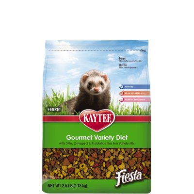 Kaytee Small Animal Fiesta Food for Ferrets