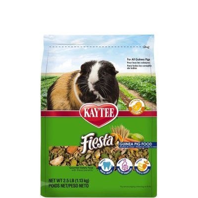 Kaytee Small Animal Fiesta Food for Guinea Pigs