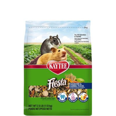 Kaytee Small Animal Fiesta Food for Hamsters and Gerbils