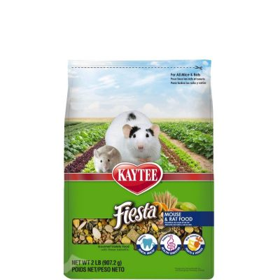 Kaytee Small Animal Fiesta Food for Mice and Rats