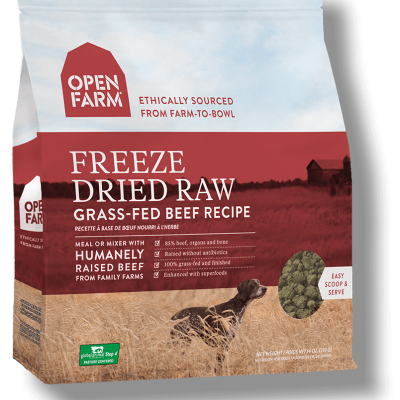 Open Farms Freeze Dried Beef Dog Food - Grain Free - for All Life Stages