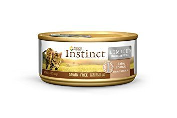 Buy Nature's Variety Instinct Limited Ingredient Grain Free Canned Cat Food - Turkey online in Canada at Canadian Pet Connection