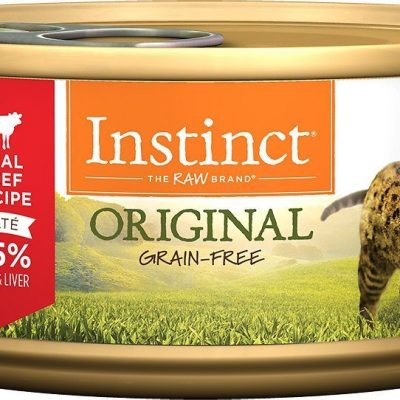 Buy Nature's Variety Instinct Original Grain Free Beef Canned Cat Food online in Canada at Canadian Pet Connection