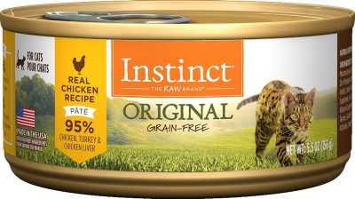 Buy Nature's Variety Instinct Original Grain Free Chicken Canned Cat Food online in Canada from Canadian Pet Connection