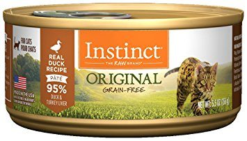 Buy Nature's Variety Instinct Original Grain Free Duck Canned Cat Food online in Canada at Canadian Pet Connection