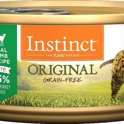 Buy Nature's Variety Instinct Original Grain Free Lamb Canned Cat Food online in Canada from Canadian Pet Connection