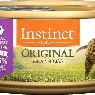 Buy Nature's Variety Instinct Original Grain Free Rabbit Canned Cat Food online in Canada from Canadian Pet Connection