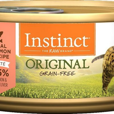 Buy Nature's Variety Instinct Original Grain Free Salmon Canned Cat Food online in Canada at Canadian Pet Connection