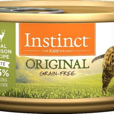 Buy Nature's Variety Instinct Original Grain Free Venison Canned Cat Food online in Canada from Canadian Pet Connection