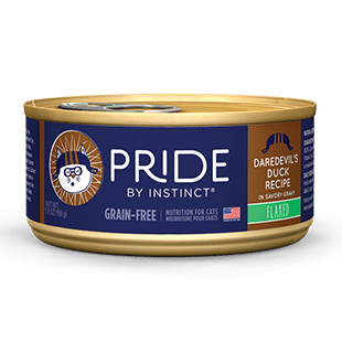 Buy Nature's Variety Pride Daredevil's Duck Canned Cat Food online in Canada at Canadian Pet Connection