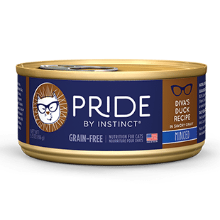 Buy Nature's Variety Pride Diva's Duck Canned Cat Food online in Canada from Canadian Pet Connection