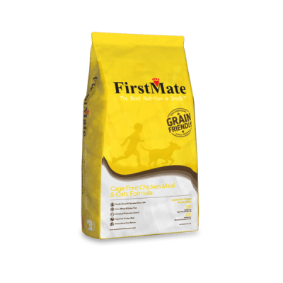 FirstMate Cage Free Chicken Meal and Oats Grain Friendly Dog Food for All Life Stages