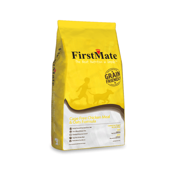Firstmate Cage Free Chicken Meal And Oats Grain Friendly