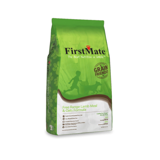 FirstMate Free Range Lamb and Oats Grain Friendly Dog Food for All Life Stages