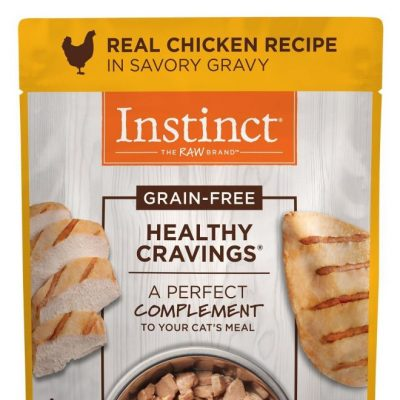 Nature's Variety Instinct Healthy Cravings Pouches Wet Cat Food for All Ages - Chicken