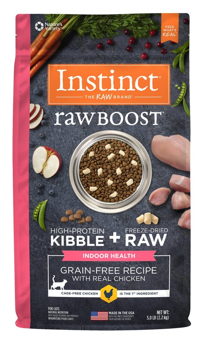 Nature S Variety Instinct Cat Food Raw Boost