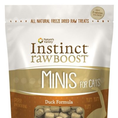 Nature's Variety Instinct Raw Freeze Dried Boost Cat Treats - Duck
