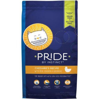 Nature's Variety Pride Kibble Cat Food for All Ages - Grain Free -  Chesire's Chicken and Chickpeas