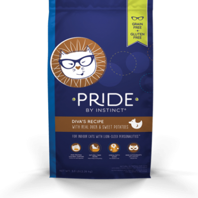 Nature's Variety Pride Kibble Cat Food for All Ages - Grain Free -  Diva's Duck and Sweet Potato