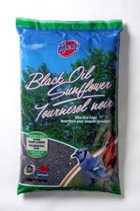 Topcrop Black Oil Sunflower Outdoor Wild Bird Seed