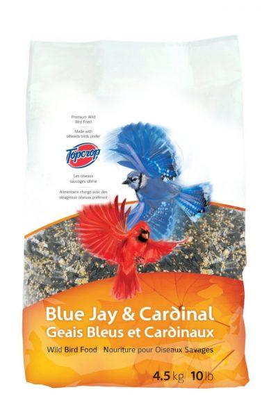 Topcrop Bluejay and Cardinal Outdoor Wild Bird Seed