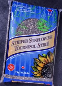 Topcrop Striped Sunflower Outdoor Wild Bird Seed