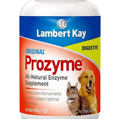 Prozyme Digestive Aid Enzyme Supplement for Dogs and Cats