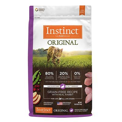 Nature's Variety Instinct Original Grain Free-Cat-Food-or-All-Ages-Rabbits