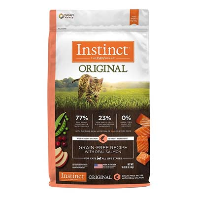 Nature's Variety Instinct Original Grain Free Cat Food for All Ages – Salmon