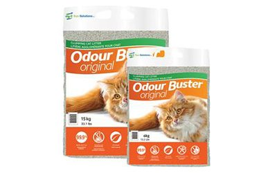 Product Review: Odour Buster Premium Clumping Cat Litter