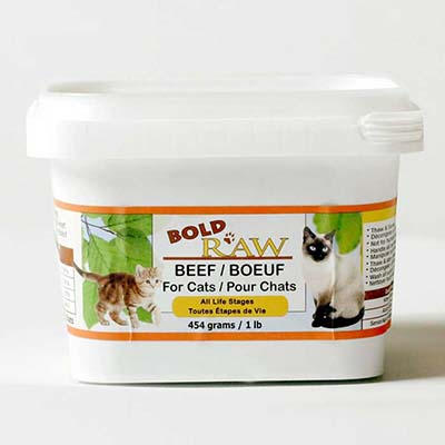 Bold Raw Frozen Cat Food - LOCAL DELIVERY ONLY