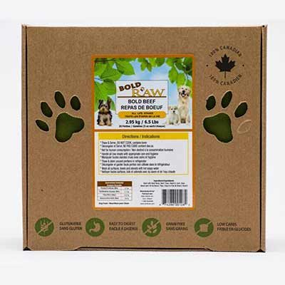 Bold Raw Frozen Dog Food - LOCAL DELIVERY ONLY