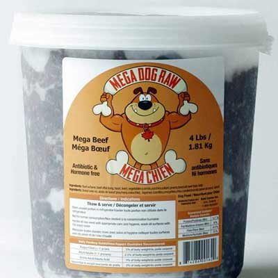 Mega Dog Frozen Raw Dog Food