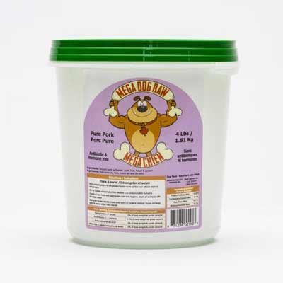 Mega Dog Frozen Pure Dog Food - LOCAL DELIVERY ONLY