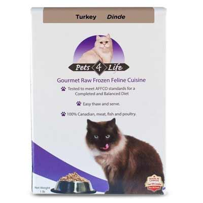 Pets4Life Frozen Raw Cat Food - LOCAL DELIVERY ONLY
