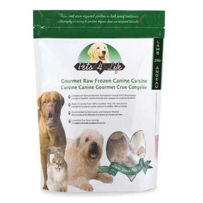 Pets4Life Homemade For Life Frozen Raw Dog Food - LOCAL DELIVERY ONLY