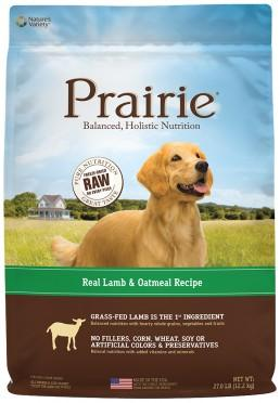 NATURE'S VARIETY Prairie Lamb Meal and Oatmeal Medley Dog Food for All Life Stages