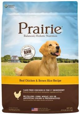 NATURE'S VARIETY Prairie Chicken Meal and Brown Rice Medley Dog Food for All Life Stages
