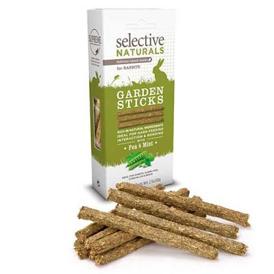 Supreme Selective Naturals Garden Sticks Treats for Rabbits and Guinea Pigs