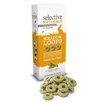 Supreme Selective Naturals Meadow Loops Rabbit Treats
